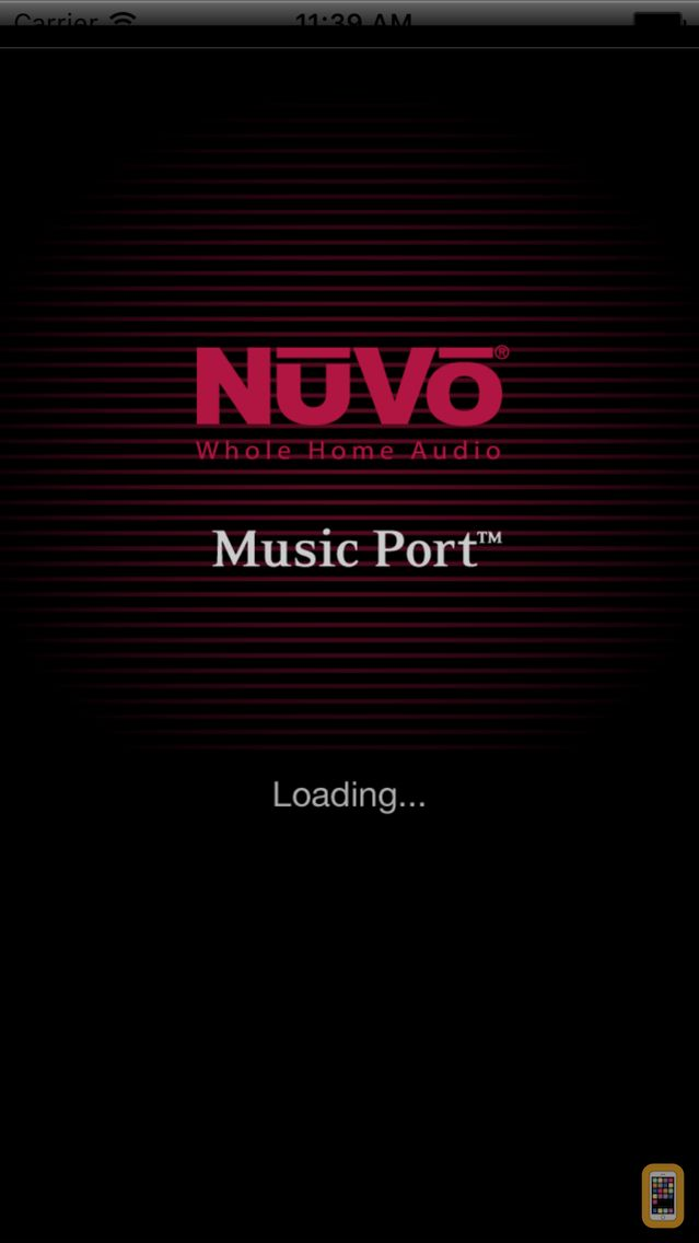 Screenshot - NuVo Music Port