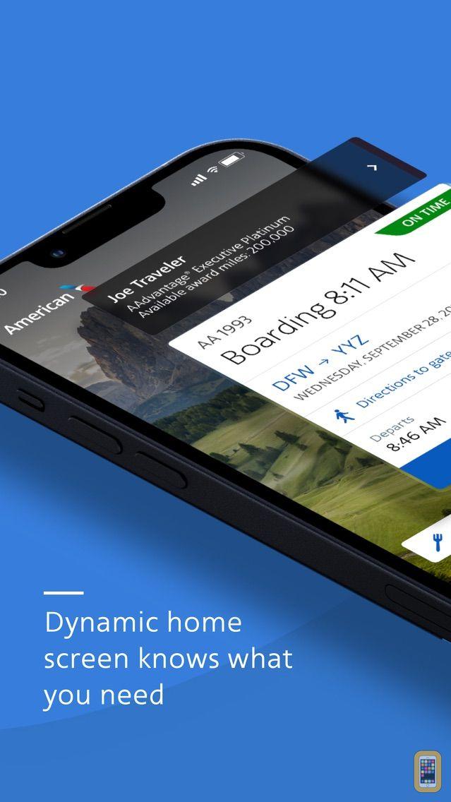 Screenshot - American Airlines