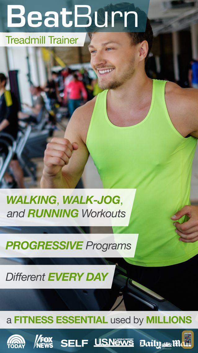 Screenshot - BeatBurn Treadmill Trainer - Walking, Running, and Jogging Workouts