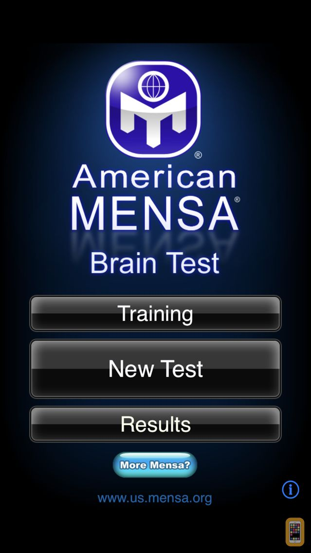 Screenshot - American Mensa Brain Test