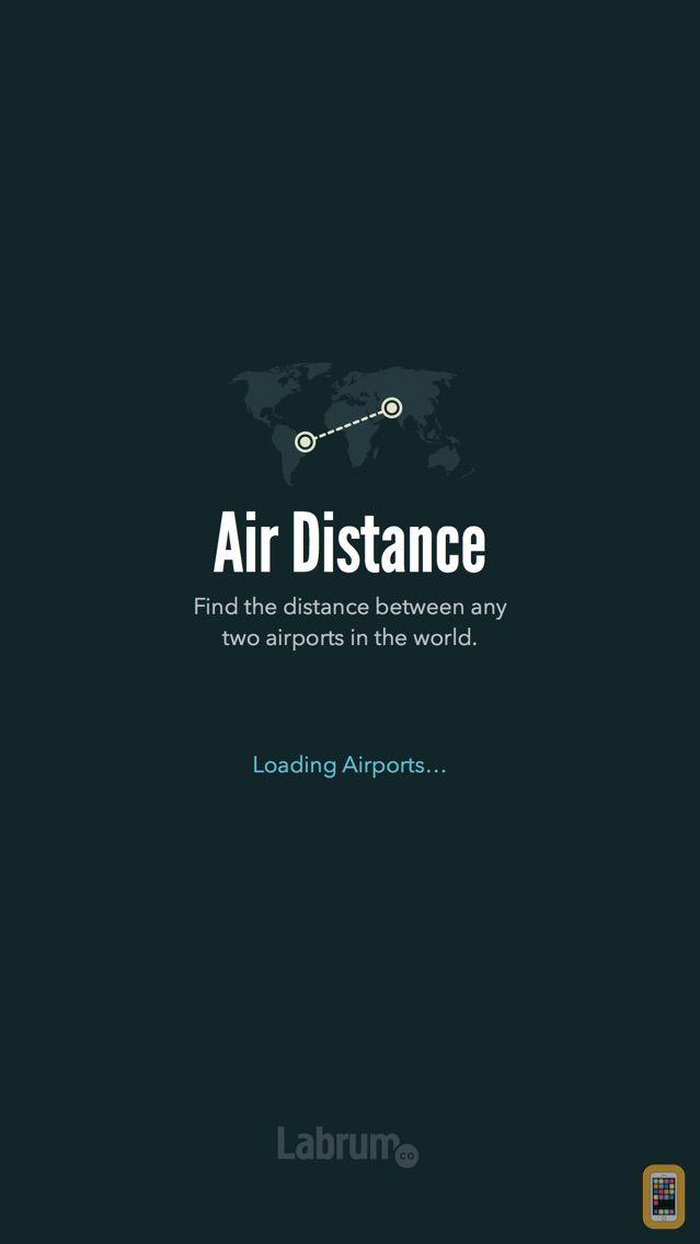 Screenshot - Air Distance