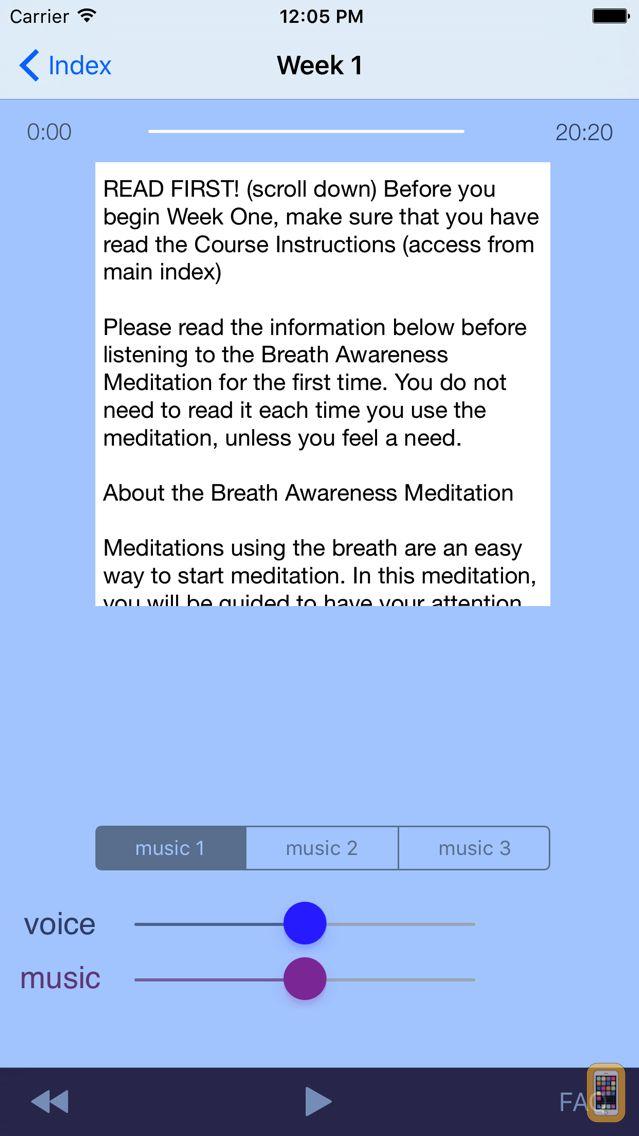 Screenshot - Meditation Without Borders