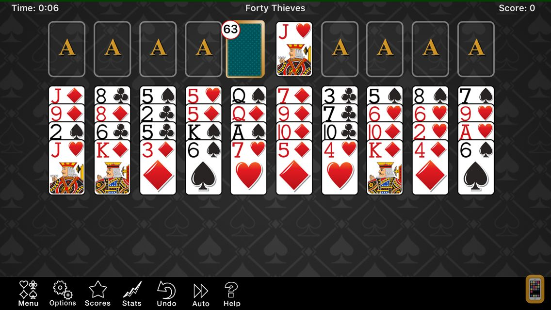 Screenshot - Solitaire Favorites