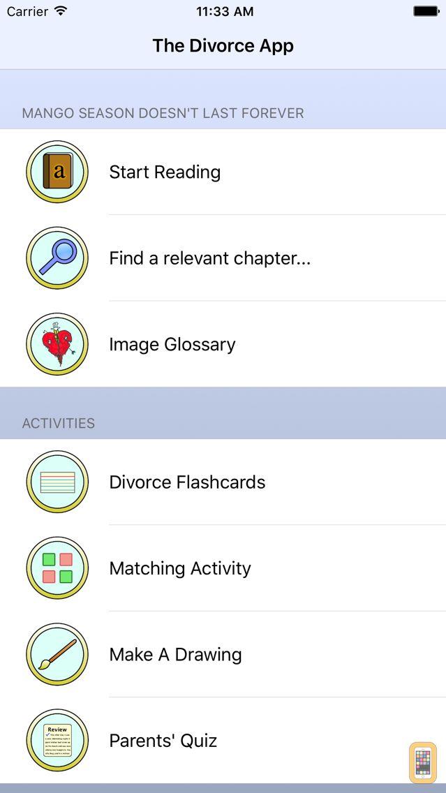 Screenshot - Divorce App