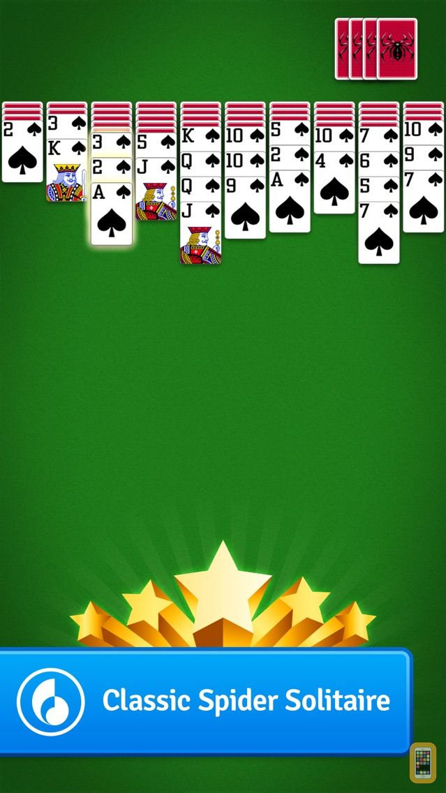 Screenshot - Spider Solitaire MobilityWare