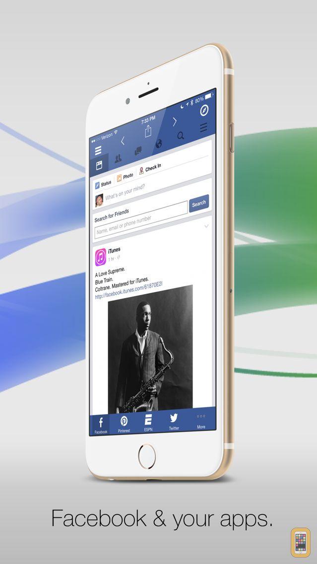 Screenshot - Facely HD for Facebook + Social Apps Browser