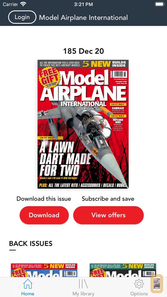 Screenshot - Model Airplane International Magazine