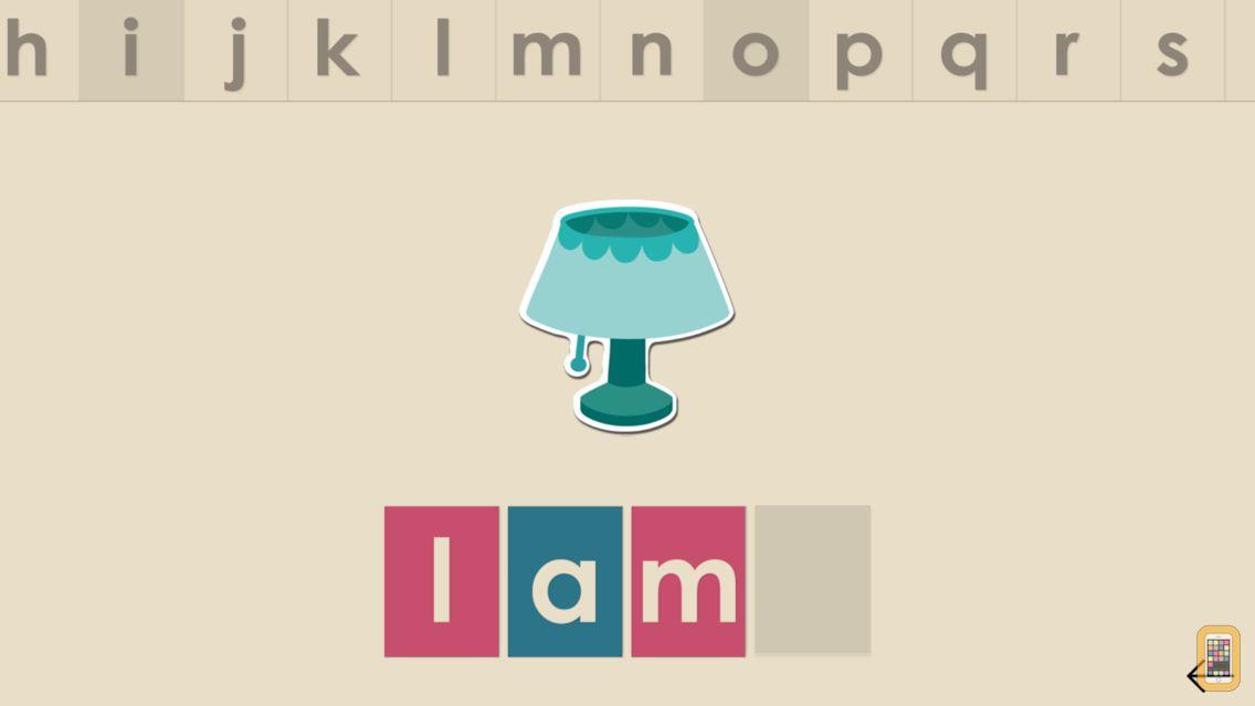 Screenshot - Montessorium: Intro to Words