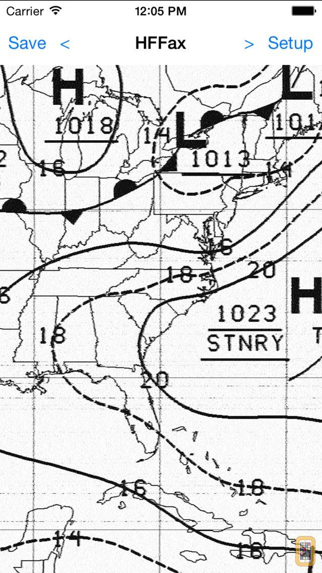 Screenshot - HF Weather Fax