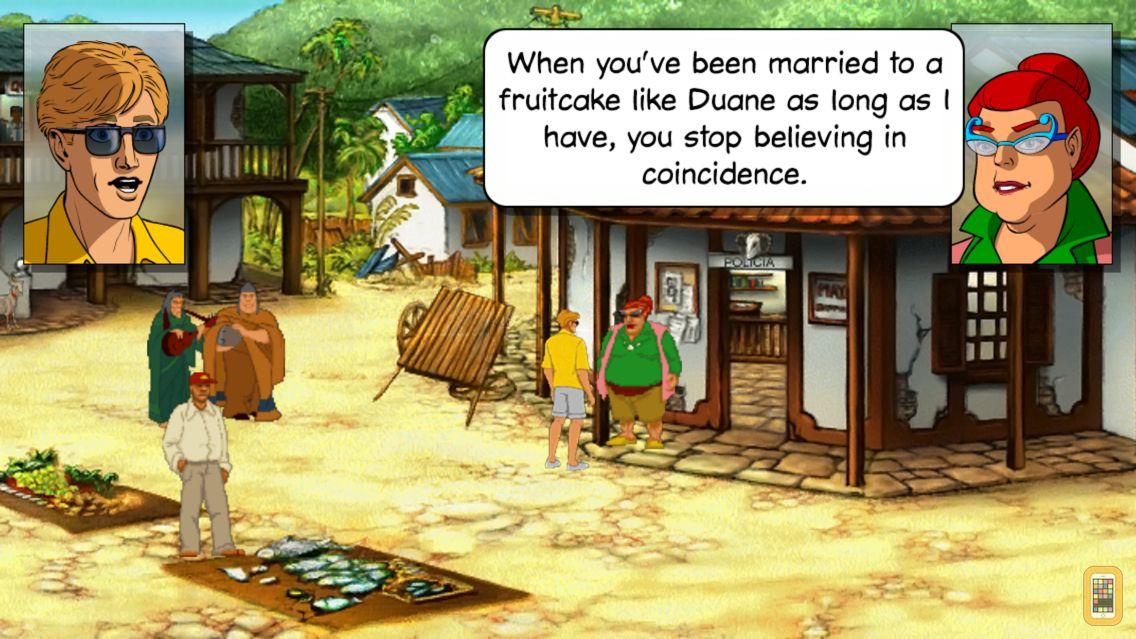 Screenshot - Broken Sword 2 - the Smoking Mirror: Remastered