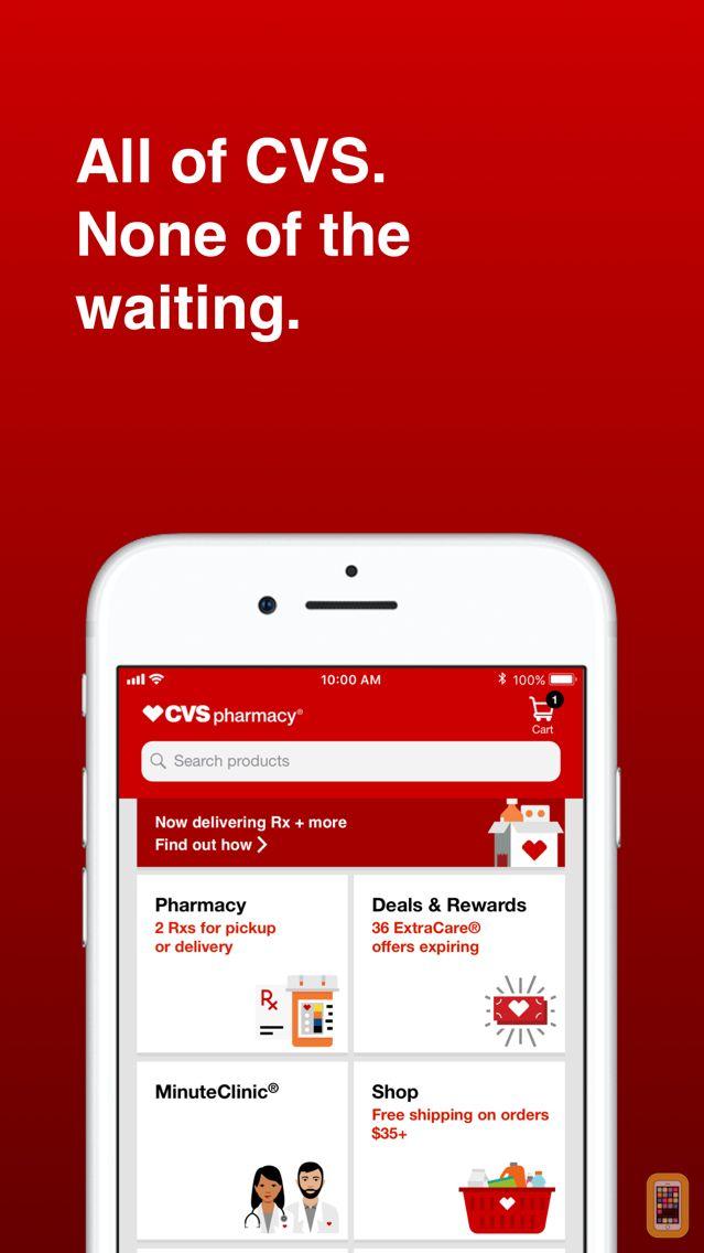 Screenshot - CVS Pharmacy