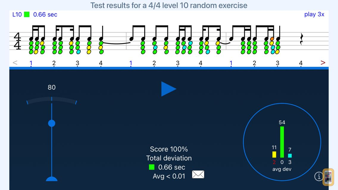 Screenshot - Rhythm Sight Reading Trainer