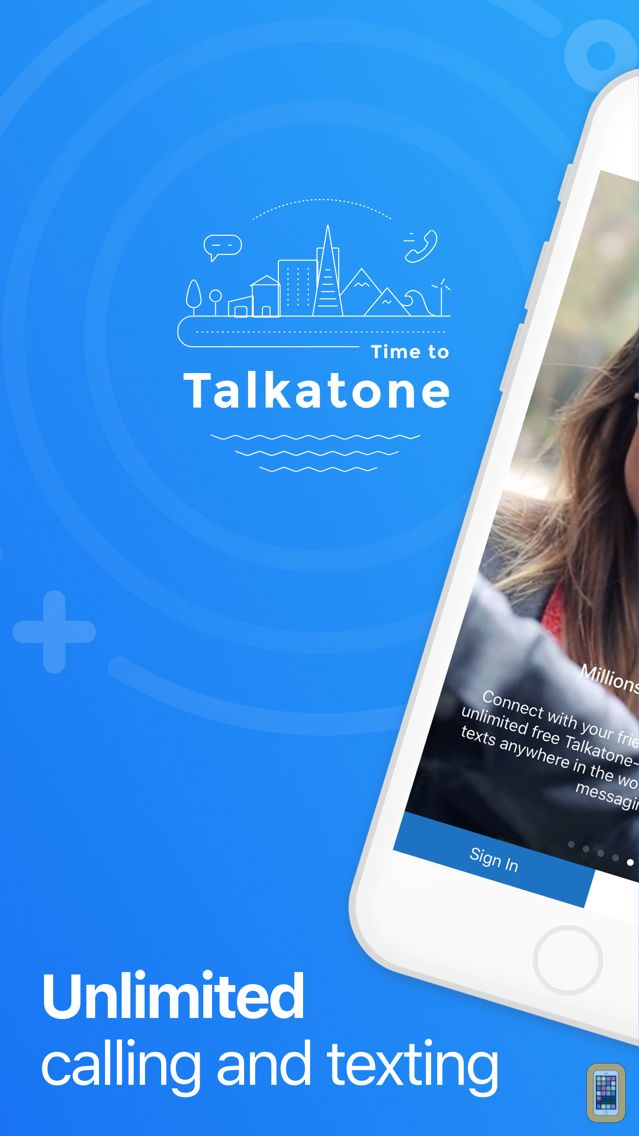 Screenshot - Talkatone: WiFi Text & Calls