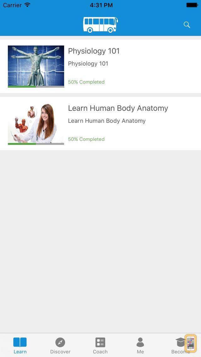 Screenshot - Learn Physiology &Body Anatomy