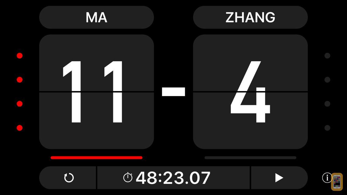 Screenshot - Table Score