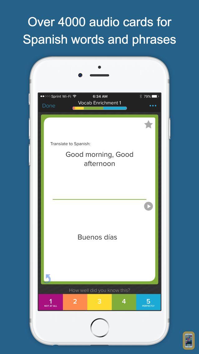Screenshot - Spanish Vocab Genius