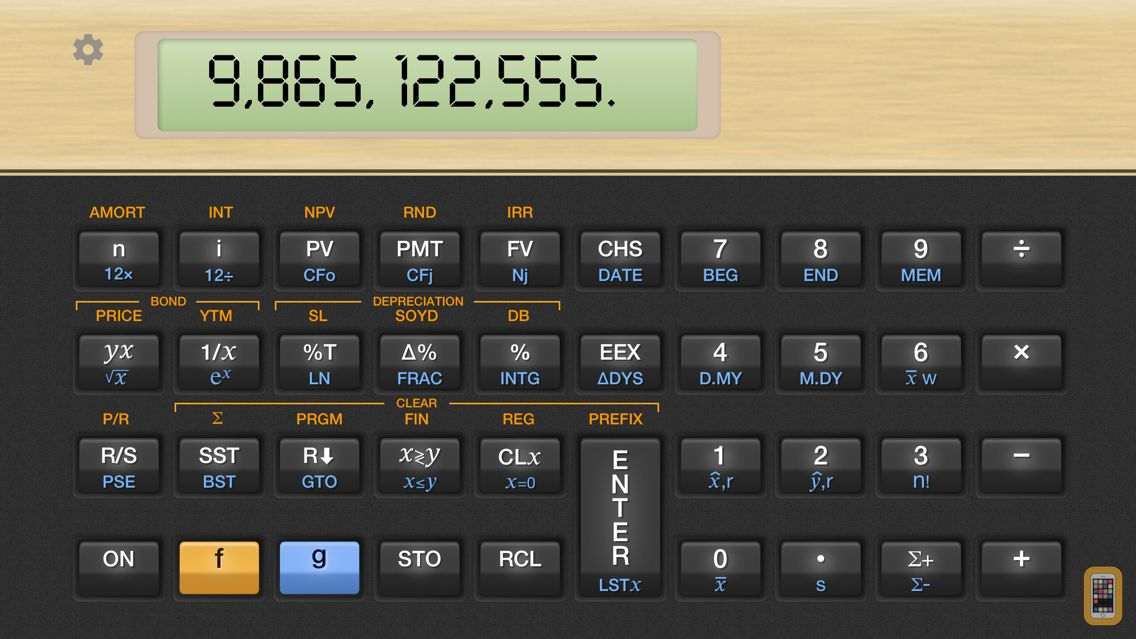 Screenshot - Vicinno Financial Calculator