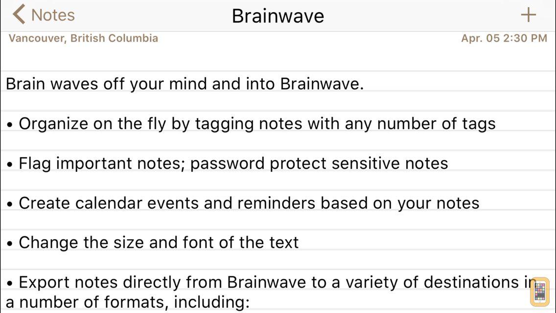 Screenshot - Brainwave