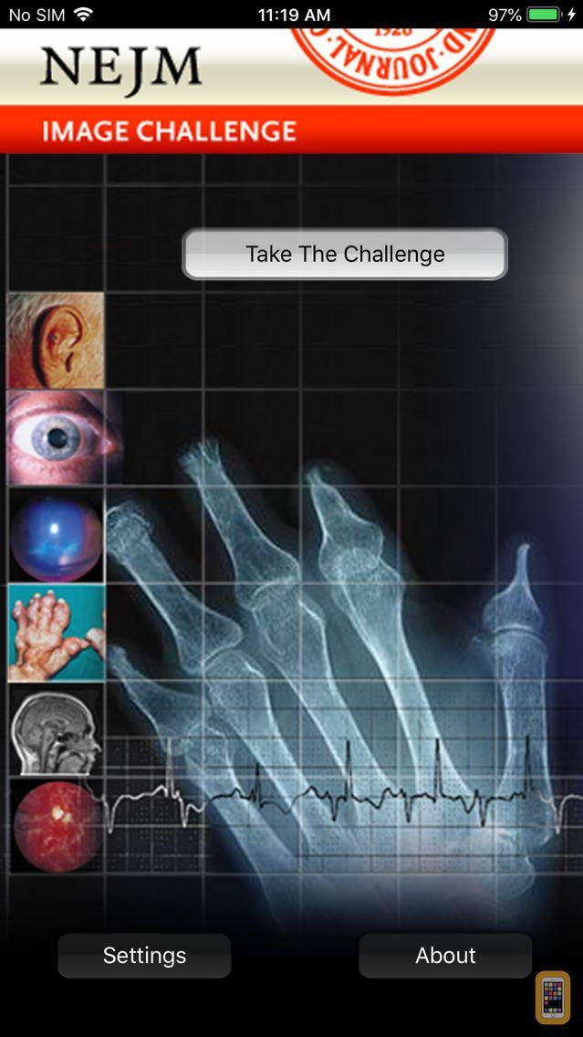 Screenshot - NEJM Image Challenge