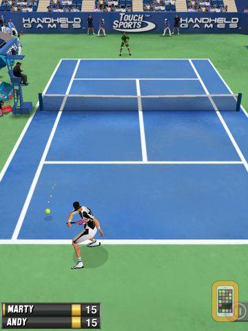 Screenshot - TouchSports Tennis 2012 HD