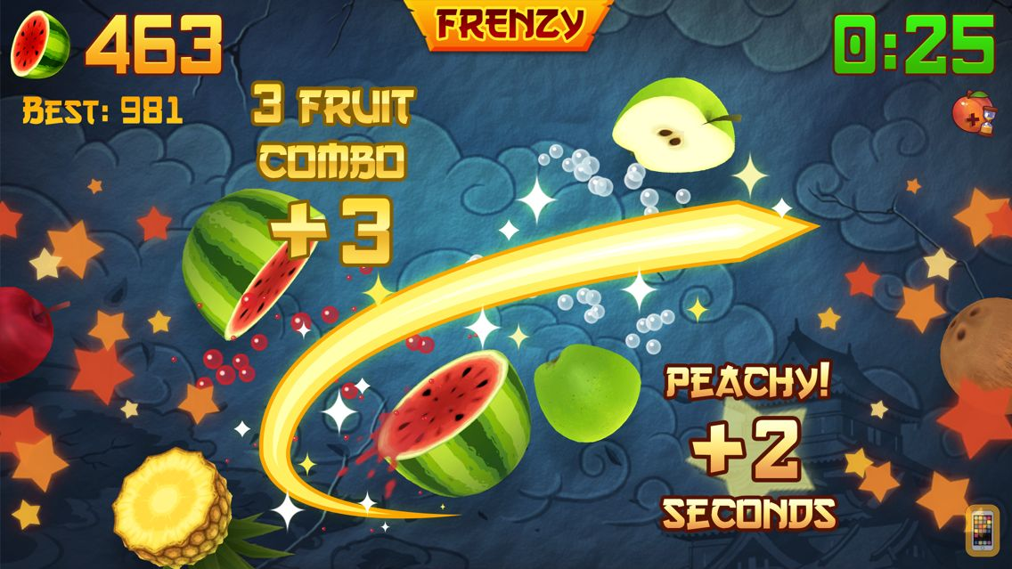 Screenshot - Fruit Ninja®
