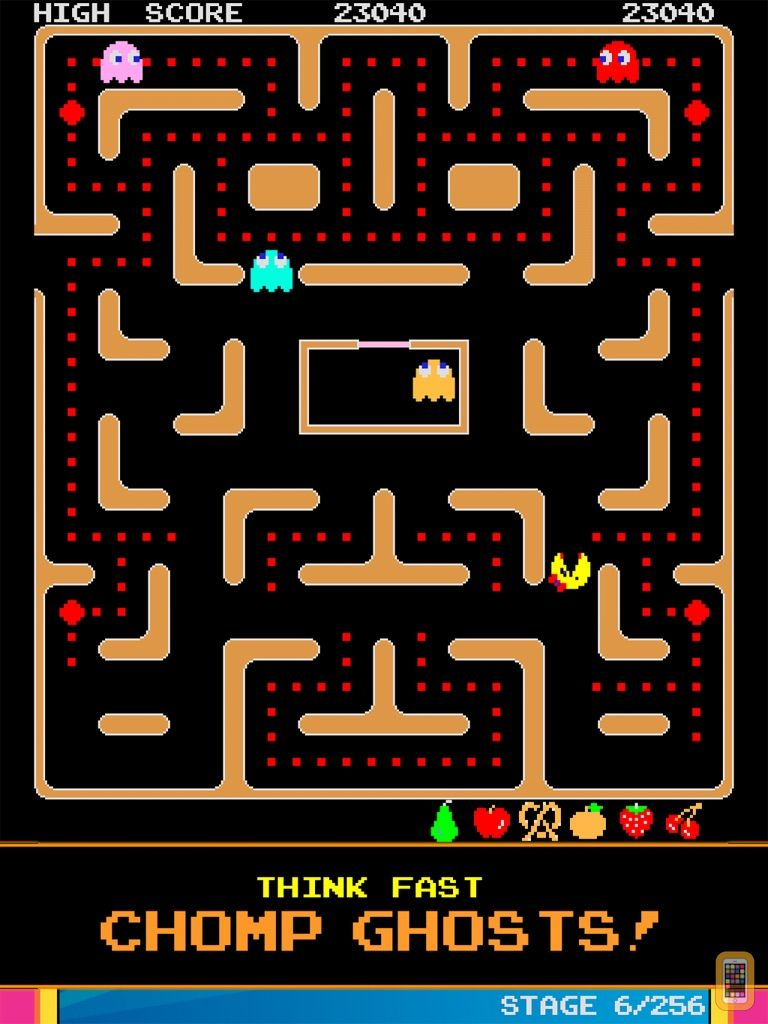 Screenshot - Ms. PAC-MAN for iPad