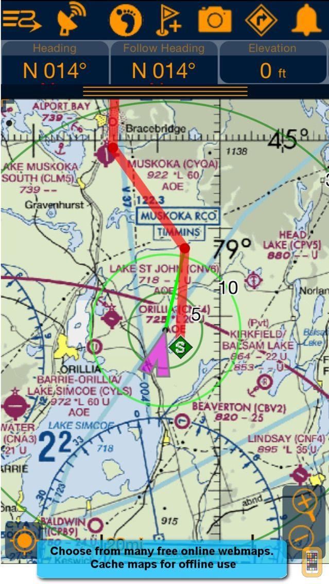 Screenshot - PathAway Outdoor Navigation