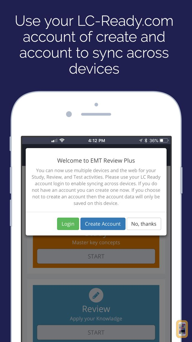 Screenshot - EMT Review Plus