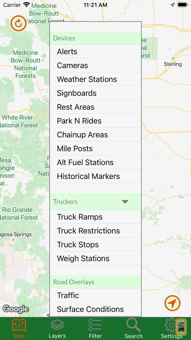 Screenshot - Colorado Traveler