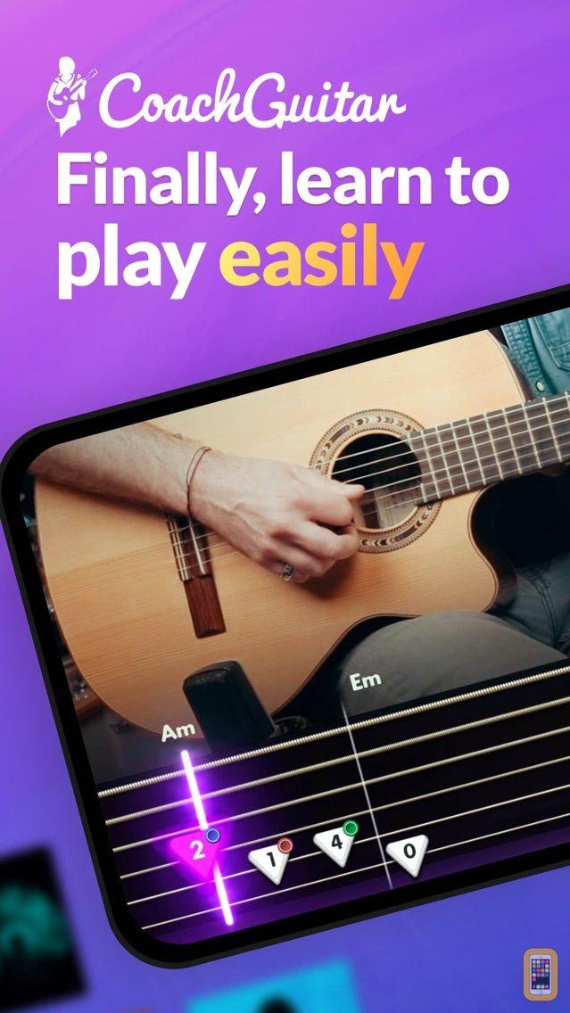 Screenshot - Guitar Lessons | Coach Guitar