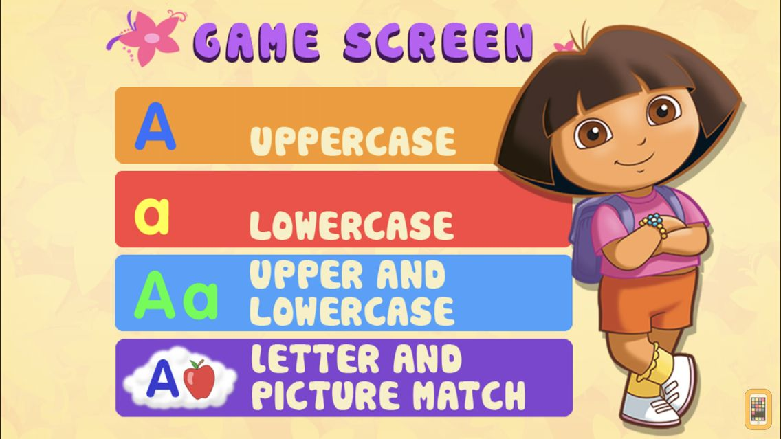 Screenshot - Dora ABCs Vol 1: Letters