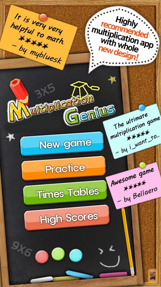 Screenshot - Multiplication Genius x19 Free