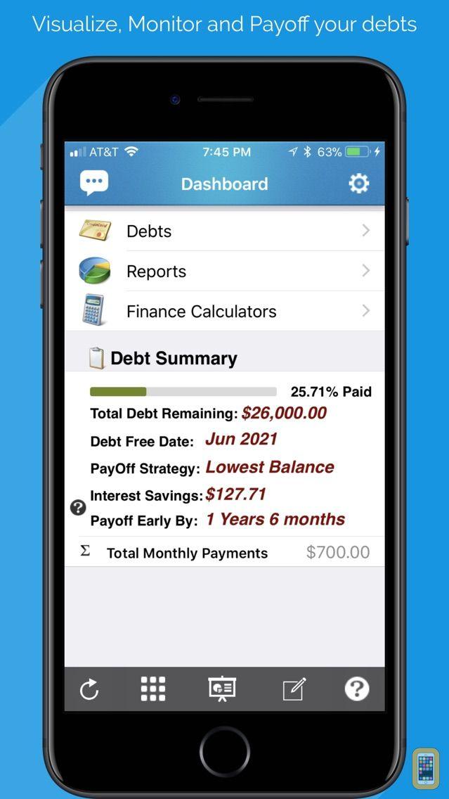 Screenshot - Debt Free - Pay Off your Debt