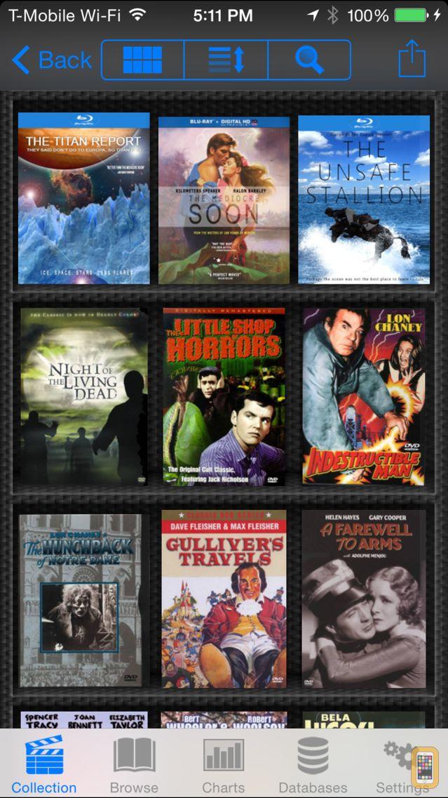 Screenshot - DVD Profiler