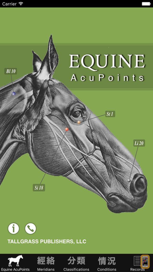 Screenshot - Equine AcuPoints
