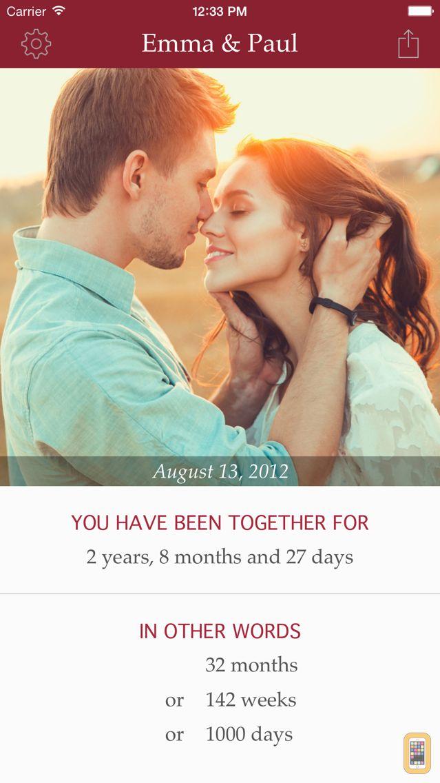 Screenshot - My Love - Relationship Counter