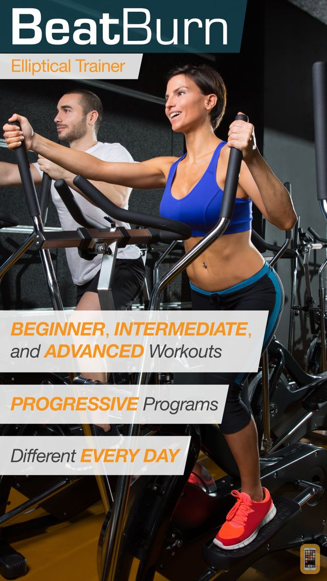 Screenshot - BeatBurn Elliptical Trainer - Low Impact Cross Training for Runners and Weight Loss