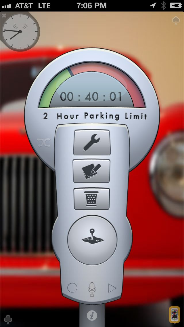 Screenshot - Honk - Find Car, Parking Meter Alarm and Nearby Places