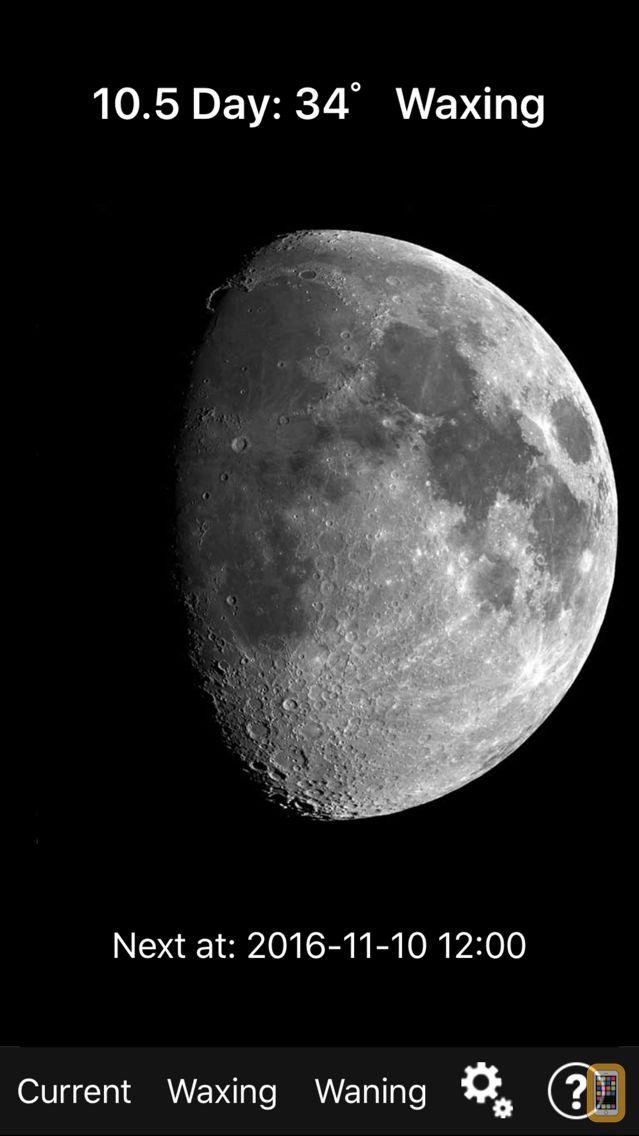 Screenshot - Moon Phase Photo Maps