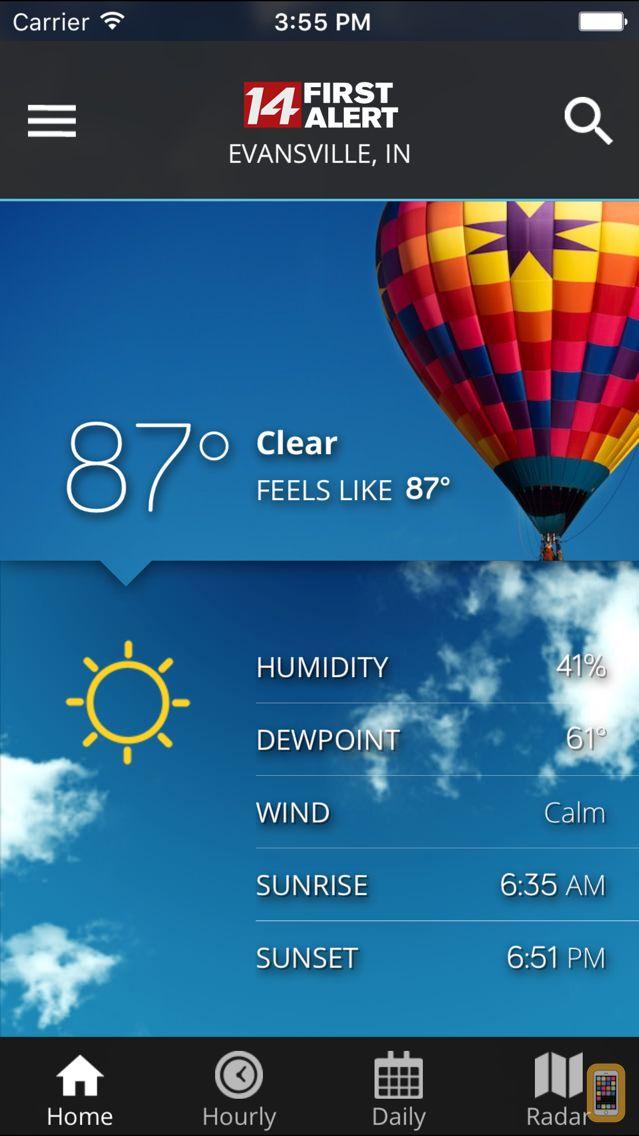 Screenshot - 14FirstAlert Weather TriState