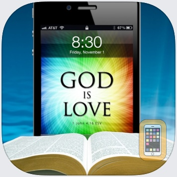 Bible Lock Screens™ - Bible Wallpapers / Backgrounds by Ryan Maher (Universal)