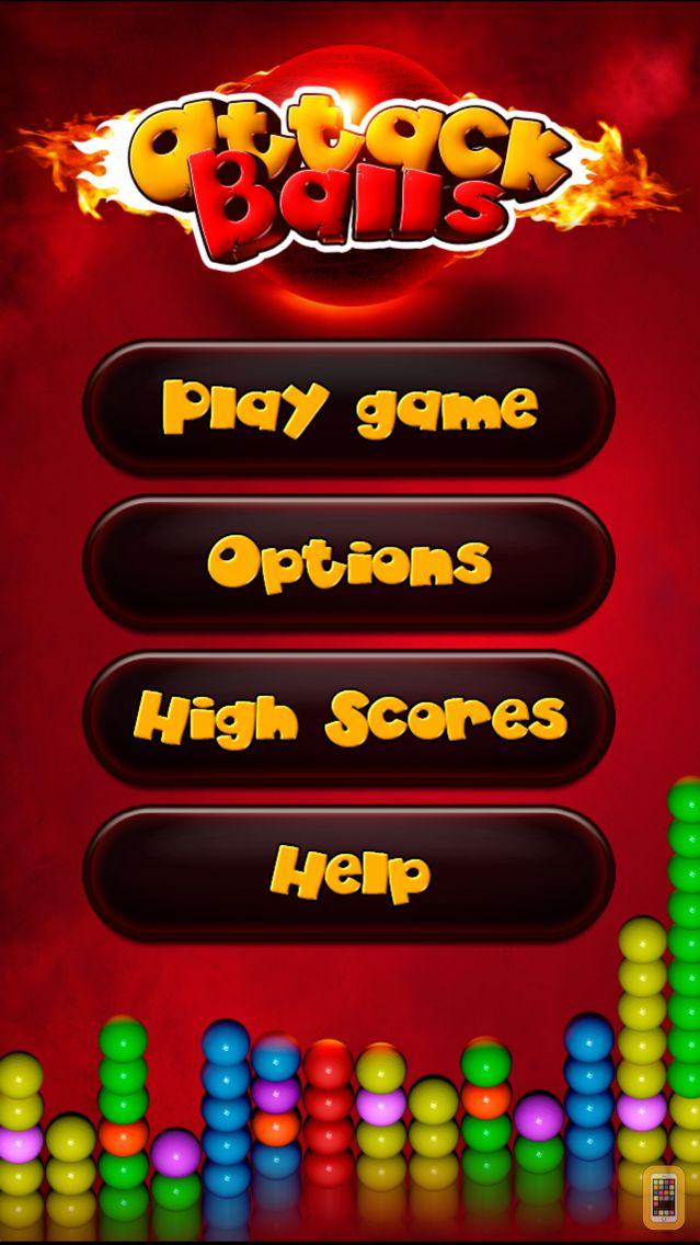 Screenshot - Attack Balls™ Bubble Shooter