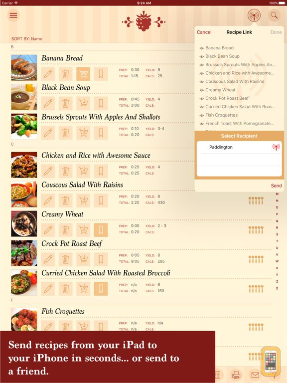 Screenshot - The Recipe Box - Your Kitchen, Your Recipes