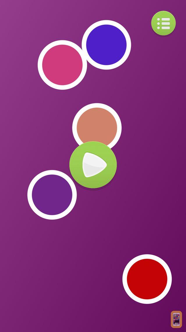 Screenshot - Color Dots - Infant Training