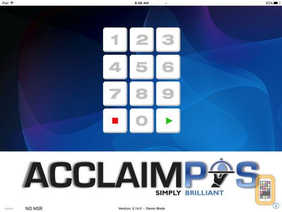 Screenshot - AcclaimPOS