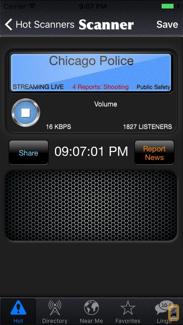 Screenshot - Police Radio