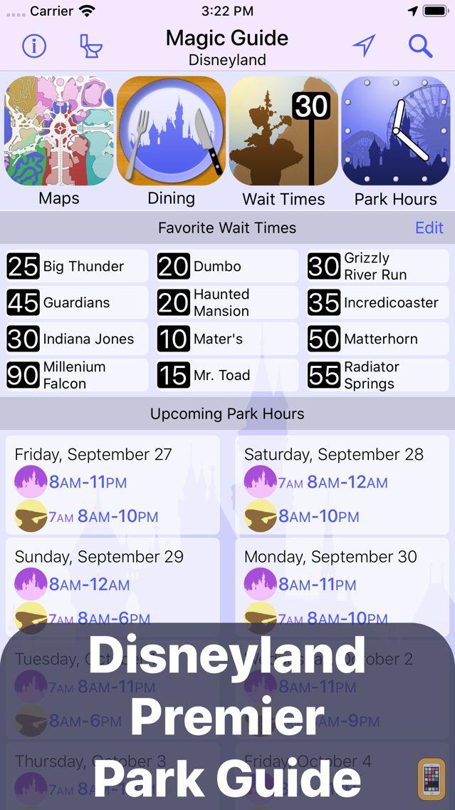 Screenshot - Magic Guide for Disneyland