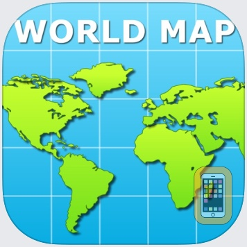 World Map Pro for iPad by Appventions (iPad)