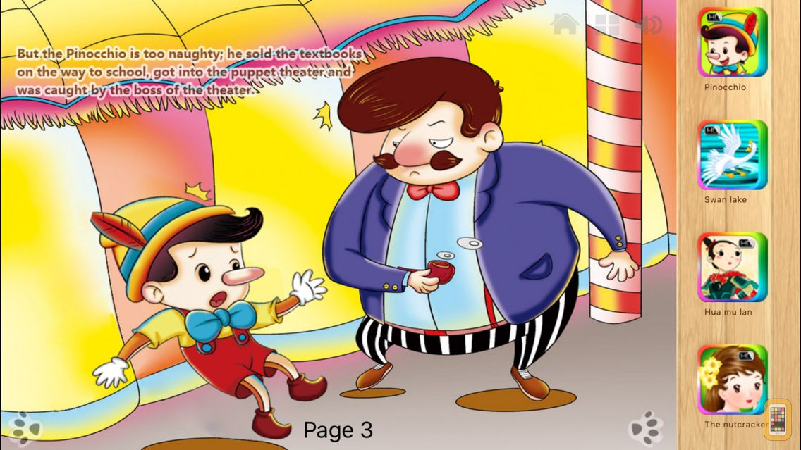 Screenshot - Pinocchio's Daring Journey Fairy Tale iBigToy
