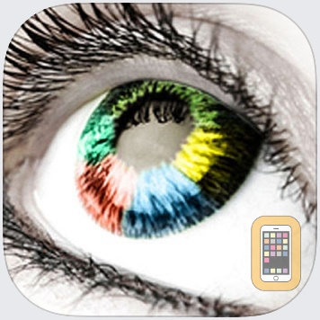 Eye Colorizer - Beautiful Colored Contact Lens With Sharingan, Vampire, Halloween And Other Photo Effects by Audacity Software Pte. Ltd. (iPhone)